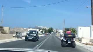 Driving from Oia to Fira on Greek Island of Santorini(The roads on the Greek Island of Santorini were funny because of all the 4 wheelers sharing the roads with large busses and trucks. Santorini is a greek Island ..., 2013-09-02T16:10:26.000Z)