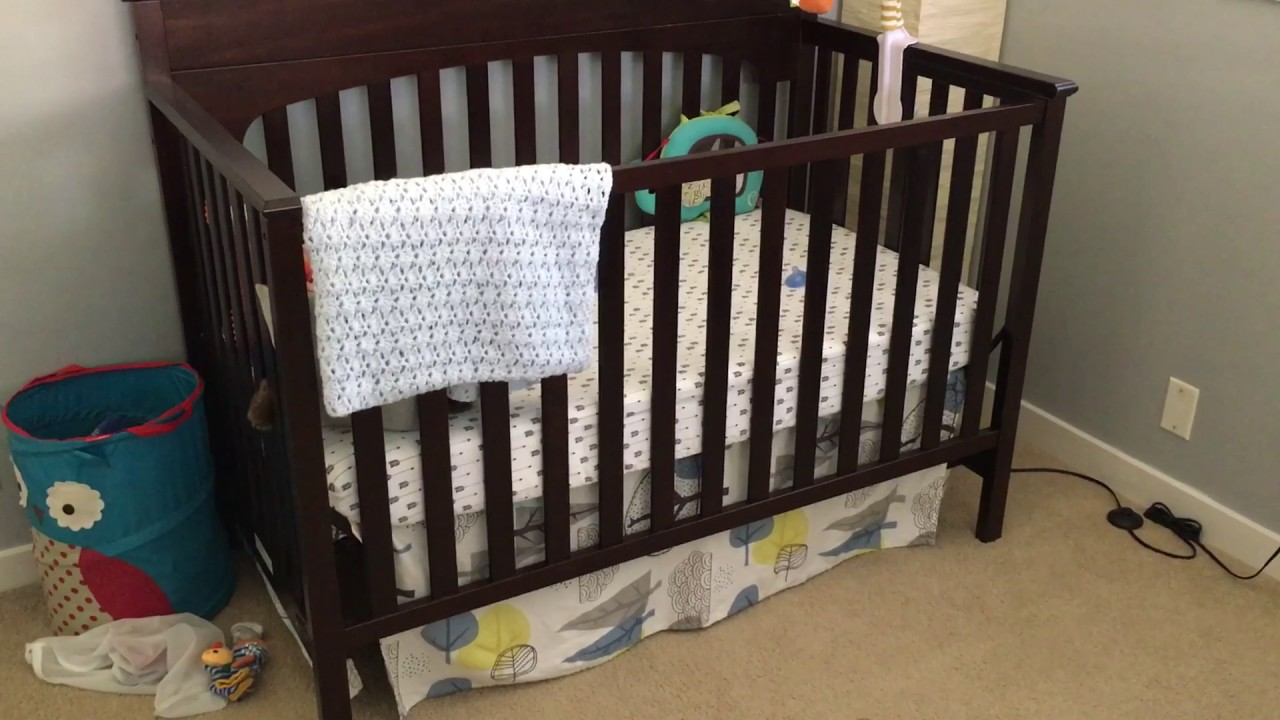 graco lauren convertible crib in espresso review