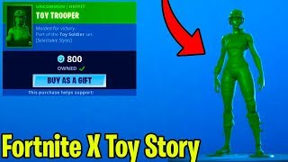 THE NEW TOY STORY 4 SKINS in FORTNITE! (FORTNITE X TOY STORY) Fortnite Item Shop June 26th!