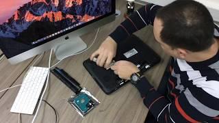 замена жесткого диска (HDD) в ноутбуке Dell Inspiron M5110