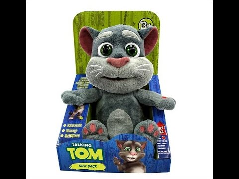 Talking Tom Toy Review Youtube