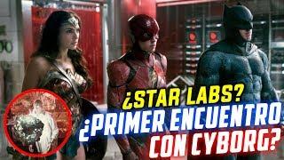 The Flash, Batman y Wonder Woman RECLUTANDO a CYBORG en STAR LABS? Conexión con Batman v Superman!