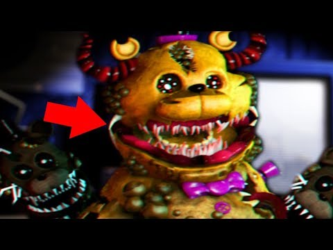 WHATS INSIDE OF FREDBEARS MOUTH?! YOU DONT WANNA FIND OUT..   Five Nights At Freddys Twisted Reality