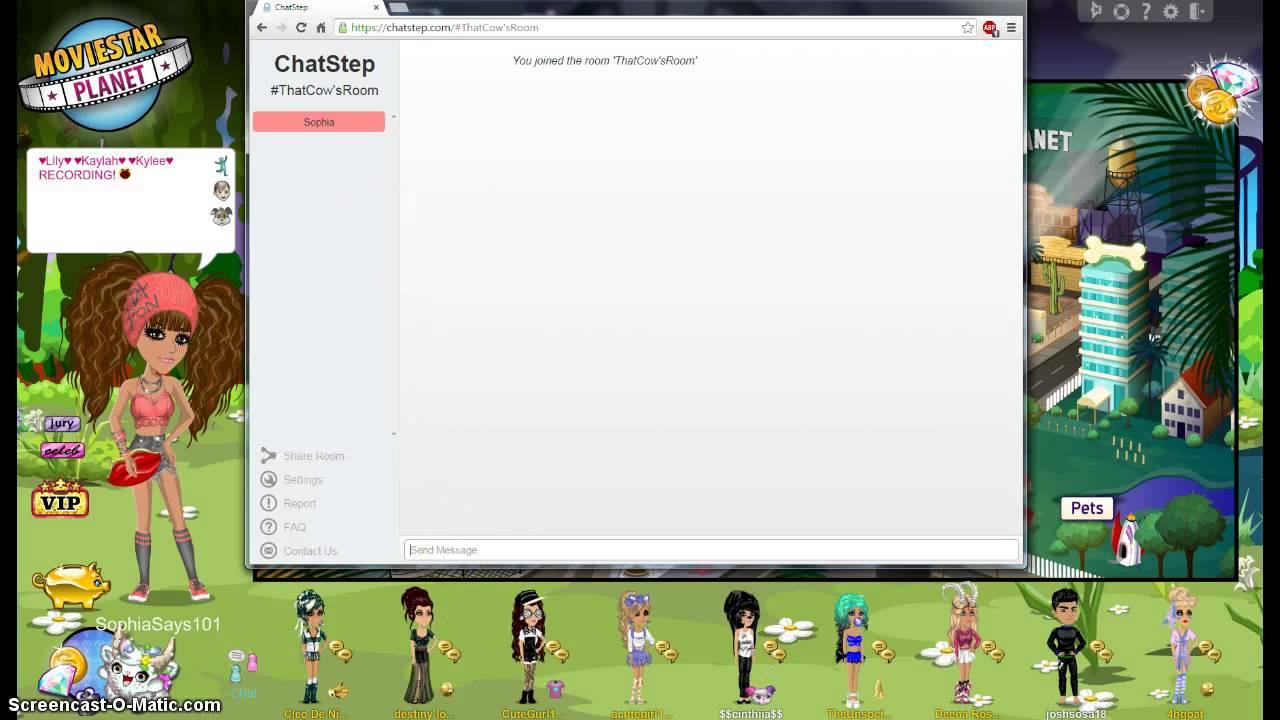 Www.chatstep.com room