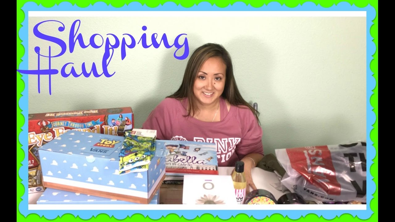 Mommy Haul - Toy Story Vans, Perfectly Posh, Target, Barnes and Noble, Games
