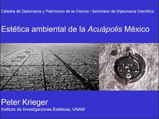 Estética ambiental de la Acuápolis México - Peter Krieger.