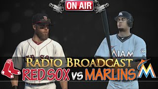 MLB 14 The Show: Boston Red Sox vs Miami Marlins - Radio Broadcast