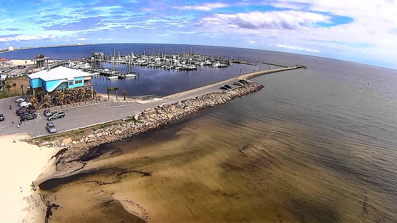 Quadcopter Test Flight At Long Beach Ms Harbor Youtube