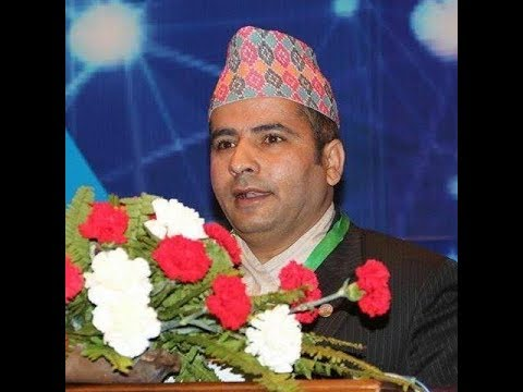 Cyber Law Expert from Nepal, Baburam Aryal