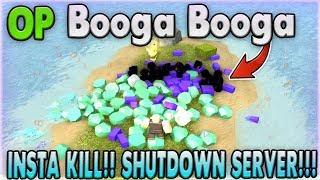 BOOGA BOOGA INSTA KILL HACK & SHUTDOWN SERVER [WORKING] [08-Dec-18] [ROBLOX HACK]