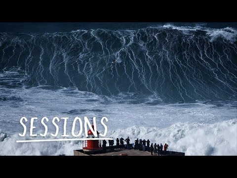 Big Wave Carnage From Nazaré Mega Swell | Sessions