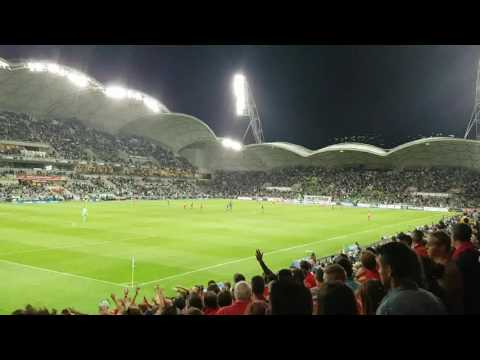 Adelaide United chanting
