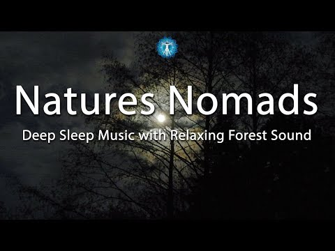 """Soft Relaxing Music for Sleep """"Natures Nomads"""" Relaxing Forest Sounds, as if Camping in the Forest"""