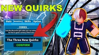 3 New Quirks ! | Boku No Roblox: Remastered | Roblox MHA Game