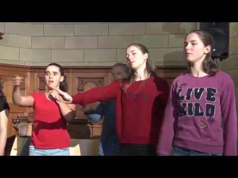 Die Junge Kantorei singt Lieder von Bon Jovi und Marvin Gaye
