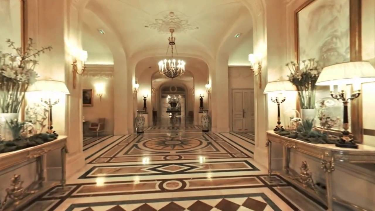 Welcome To The Lobby At Shangri La Hotel Paris Video
