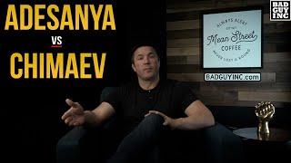 <b>Khamzat Chimaev</b> vs Israel Adesanya