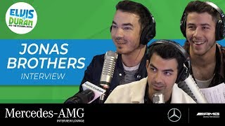 Joe Jonas Admits Fear Of Avril Lavigne In 'Know Your Bro' | Elvis Duran Show