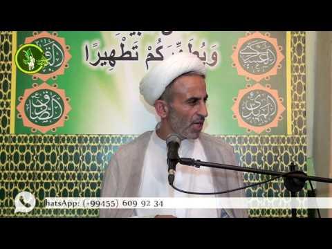 Hacı Əhliman cümə moizəsi 26082016