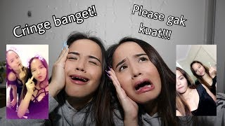Reacting to old video and text message of us (cringe parah)