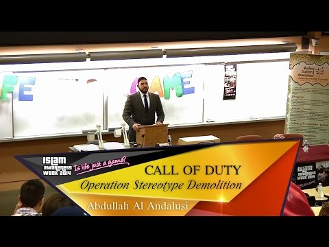 Call Of Duty: Operation Stereotype Demolition (1/3)