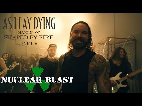 """AS I LAY DYING - The Making of Shaped By Fire: PART 6 - """"Blinded"""" (OFFICIAL INTERVIEW)"""
