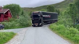 ceļš no Tromso uz mājām