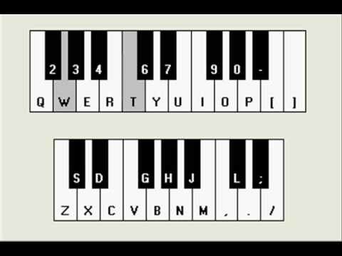 How to play Super Mario theme song on piano - Easy tutorial - YouTube