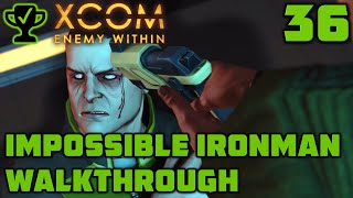 Base Defense - XCOM Enemy Within Walkthrough Ep. 36 [XCOM Enemy Within Impossible Ironman]