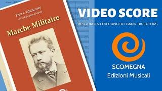 MARCHE MILITAIRE - Peter I. Tchaikovsky, arr.  Giancarlo Gazzani