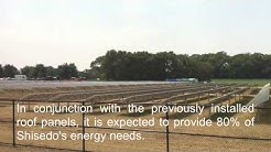 Shiseido Solar PV Photovoltaic East Windsor NJ