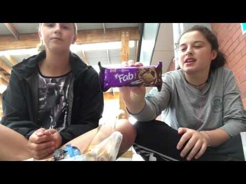 New Zealander's Try Indian Snacks