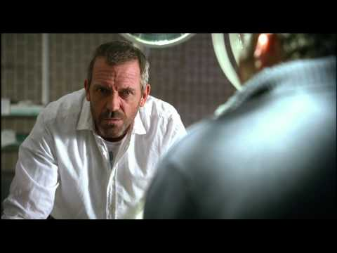 Dr House tries to be like Jack Bauer