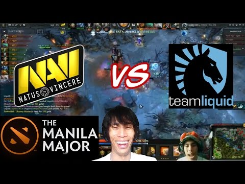 Na'Vi Vs Team Liquid game 2 | Manila Majors | Peenoise Shoutcast w/ GLOCO