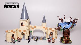 Lego Harry Potter 75953 Hogwarts Whomping Willow Speed Build