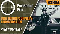 1961 HORRIFIC DRIVER'S EDUCATION FILM  MECHANIZED DEATH 43804