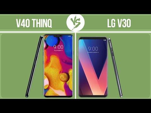 LG V40 ThinQ Vs LG V30 ✔️