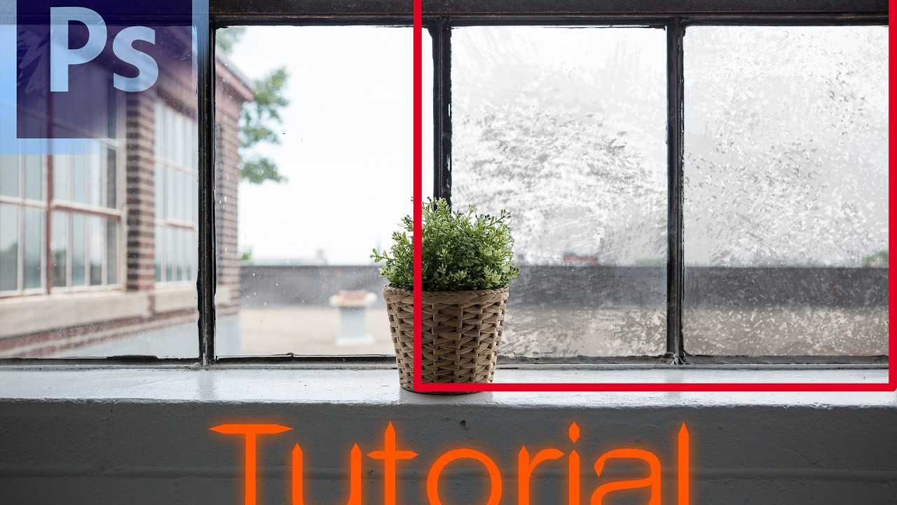 Dirty Gl Window Photo Tutorial