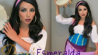 Disney's Esmeralda Make-up Look !!! Thumbnail