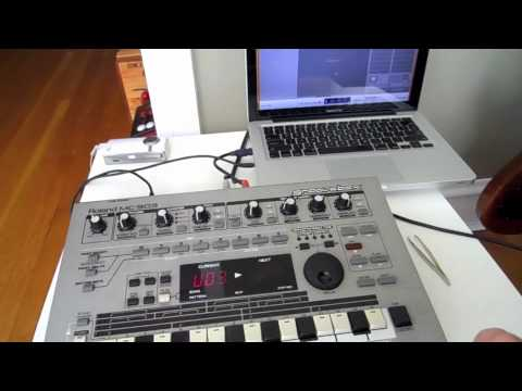 Midi Sync with Garageband (Roland MC-303)
