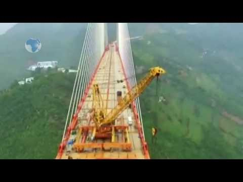 World's highest bridge nears completion in China