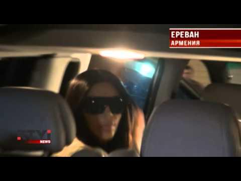 Ким Кардашьян прилетела в Ереван