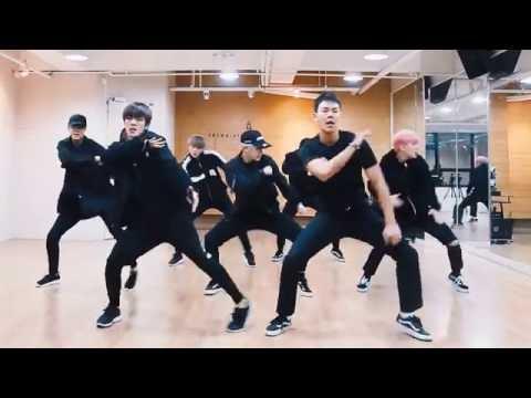 Monsta X 'Fighter' mirrored Dance Practice