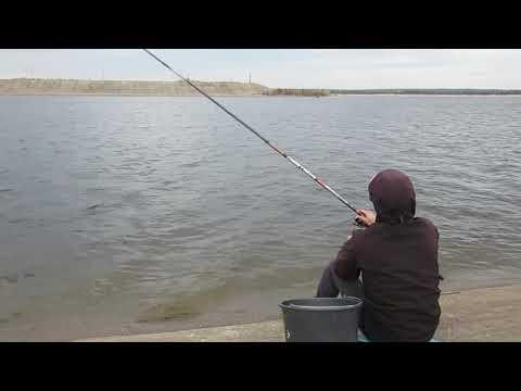 Рыбалка в шлюзах Новочебоксарск на поплавок!