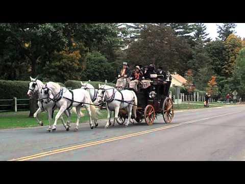 Carriage parade, Stockbridge, Massachusetts (1)