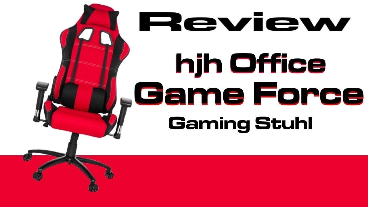 Bürostuhl24 Game Force Gaming Stuhl Rezension Gaming Stuhl Game Force Hjh Office German