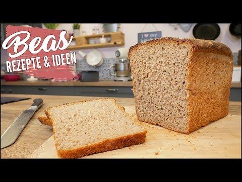 Landbrot Rezept - Paderborner Art - Brot backen - YouTube