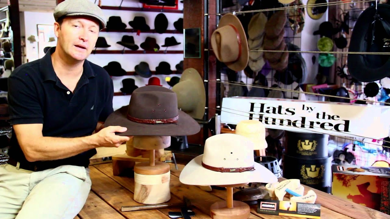 b92399c35d7 Akubra Riverina Product Review By Hats By The Hundred - YouTube