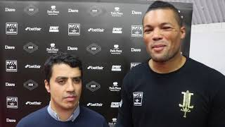 JOE JOYCE - 'I PUNCHED HIS DREAD LOCKS CLEAN OFF! BERMANE STIVERNE WAS LIKE A WALKING HEAVYBAG!'