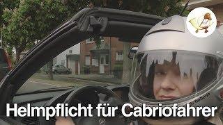 Helmpflicht für Cabriofahrer kommt